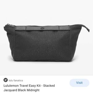 Lululemon travel easy kit